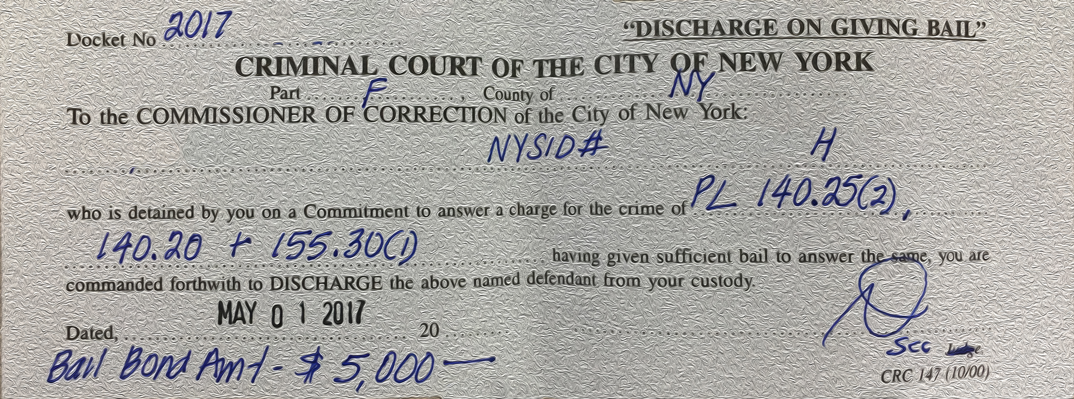 How Long Does Inmate Release Take in NYC?